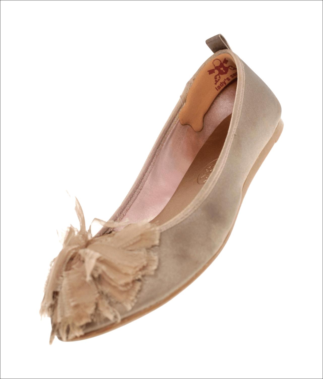 Hielbeschermers ballerina Caramel