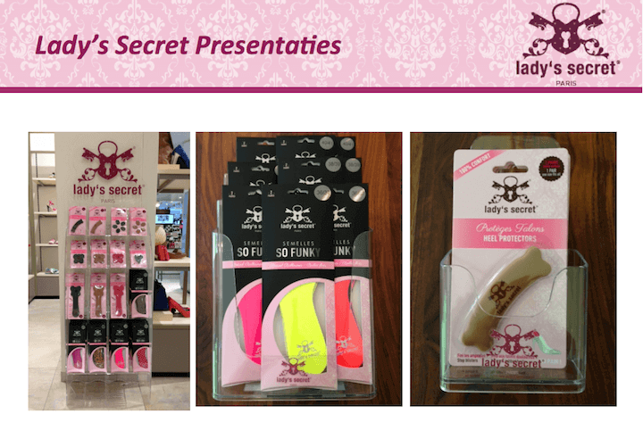 Lady's Secret presentaties